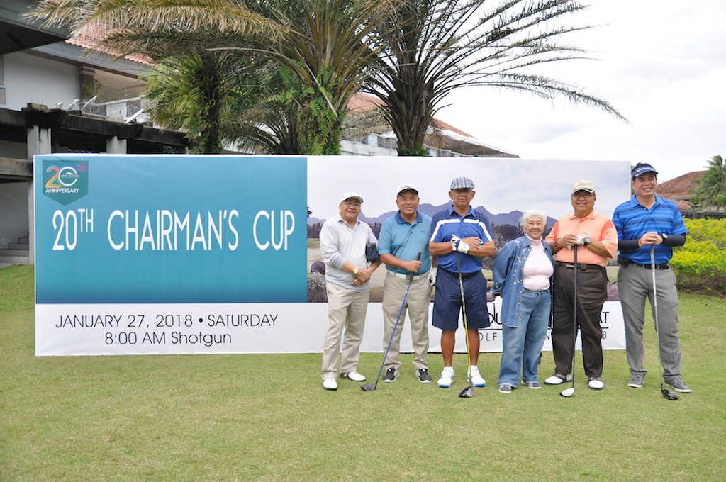 Every January, in honor of Chairman and Architect Antonio A Turalba, Sr.'s birthday on January 17, Mount Malarayat Golf and Country Club hosts The Chairman's Cup – a golf tournament open to members and their guests.